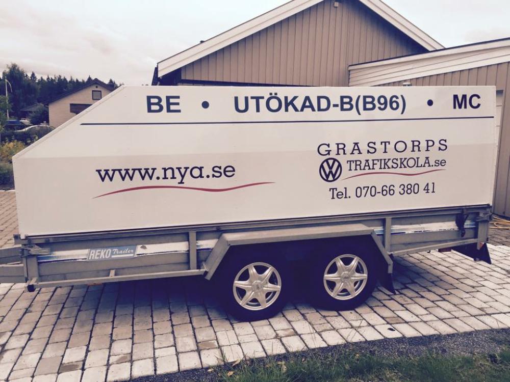 Släpvagnskort Grästorps Trafikskola